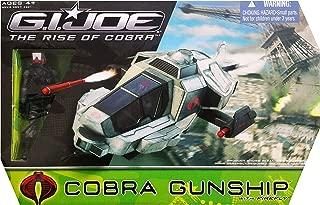 G.I. Joe Rise of Cobra Gunship with Firefly Action Figure Vehicle Set