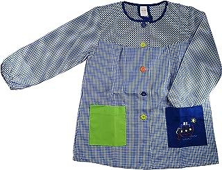 comprar comparacion Kiz Kiz Bata Escolar Infantil Baby Infantil de Cuadros Pequeños