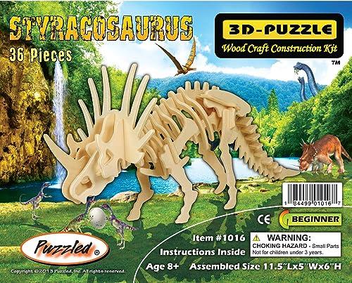 3-D h ernes Puzzlespiel - Größes Styracosaurus