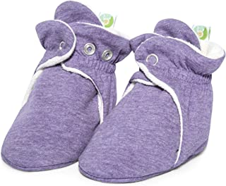 Bum Chicoo Baby Boys Girls Booties,Cozy Fleece Booties,Booties for Baby that Stays On.