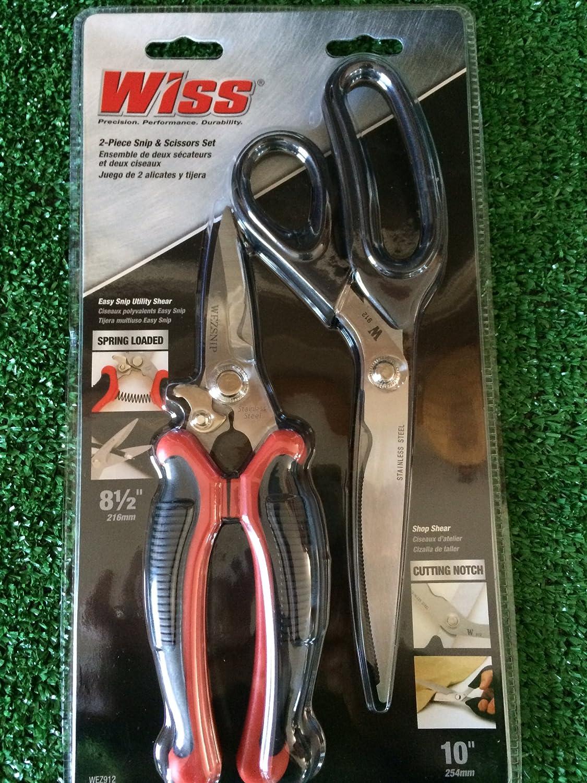 Wiss 2 piece set stainless steel scissors snips Precision Max 52% Latest item OFF Per