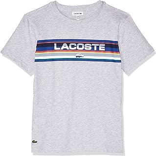 Lacoste Boys Block Logo Tee