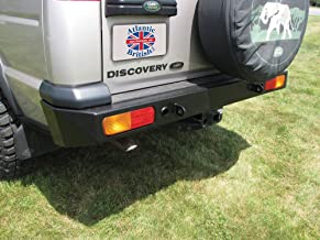 discovery 2 steel bumper