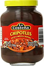 La Costena Chipotle Peppers, Diced, 8.11 Ounce