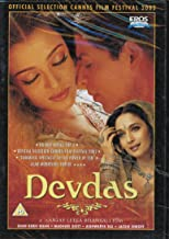 Devdas Bollywood DVD With English Subtitles