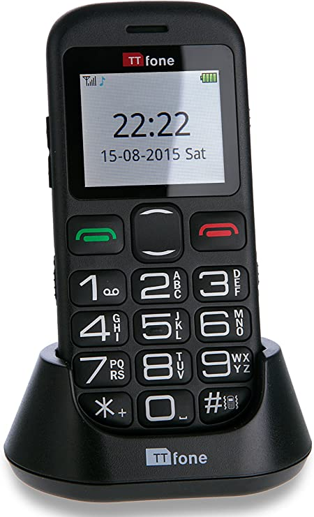 Ttfone Jupiter 2 Big Button Pay As You Go Easy Simple Mobile Phone For The Elderly With Sos Emergency Button Vodafone Payg Amazon Co Uk Electronics Photo
