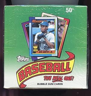 1990 Topps Baseball Wax Pack Box FACTORY SEALED Frank Thomas Sammy Sosa Rookie Card Possible