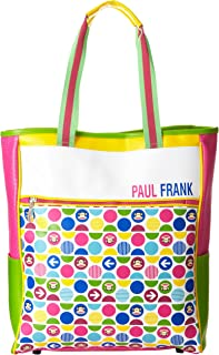 FAB Starpoint Big Girls' Paul Frank Junior International Agent Tote, Pink/Green (Multi) - 10462401