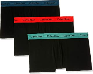 Calvin Klein Men's Cotton Stretch Low Rise Trunks (3 Pack)