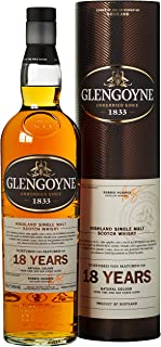 Glengoyne 18 Jahre Single Malt Scotch Whisky mit Geschenkverpackung 1 x 0,7 l