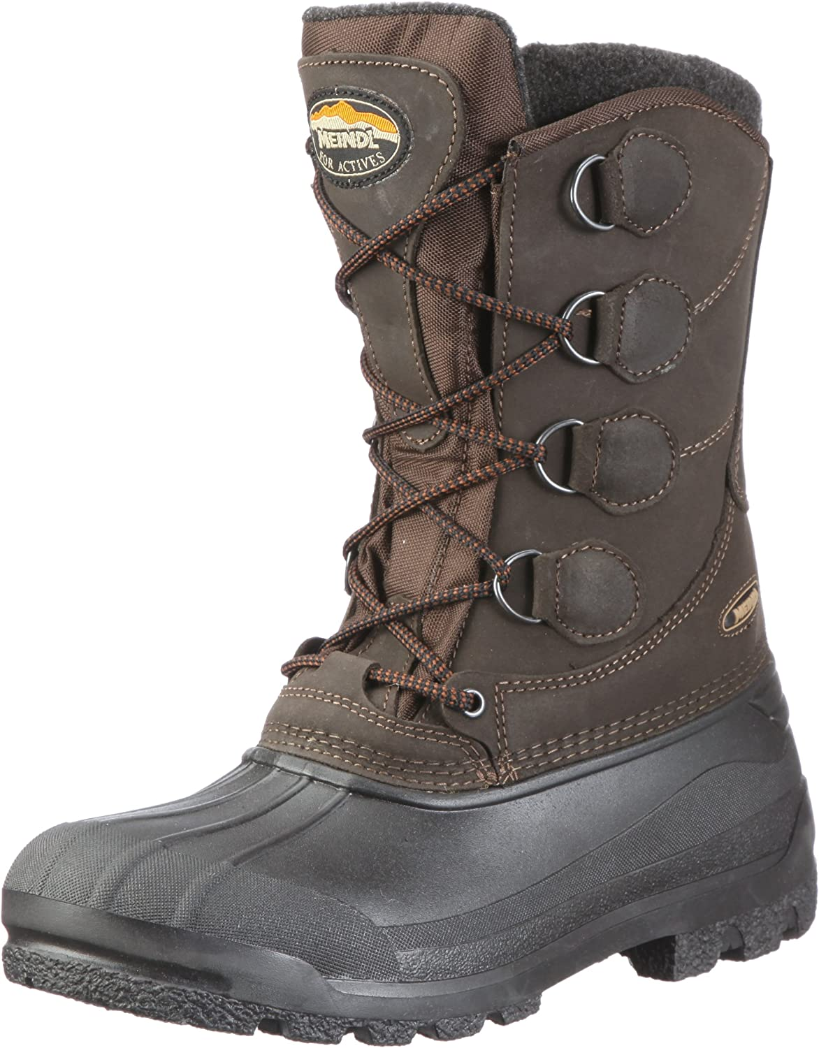 Meindl Men's Brown High Rise Hiking shoes