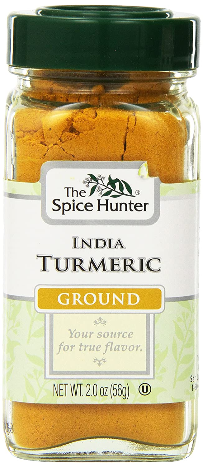 Spice Hunter Spices Ground Turmeric of 2 Ounce Pack Financial sales sale OFFicial shop 6