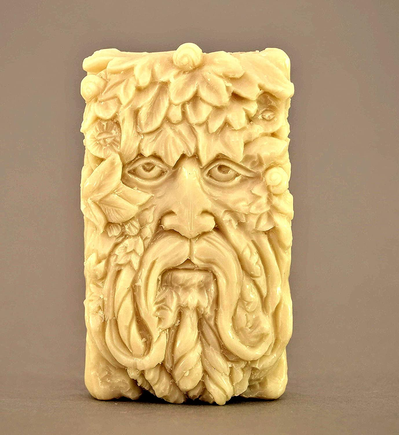 Green Man Silicone Mold SOAP Plaster New Free Shipping Direct sale of manufacturer Clay Celtic Wax Resin