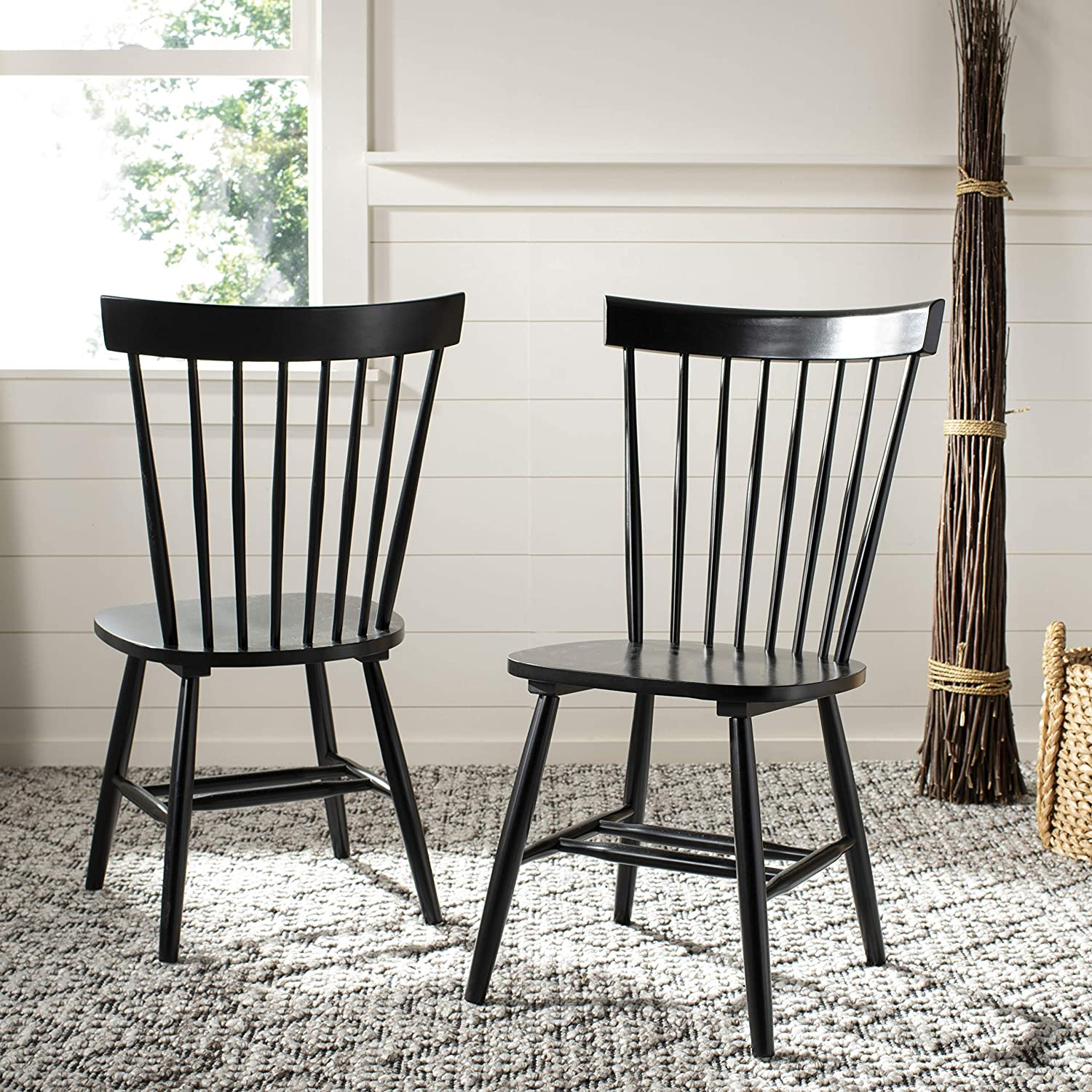 Best for Wood: Safavieh American Home Spindle Side Chair.