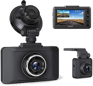 ドライブレコーダー 前後カメラ 1080P フルHD 高画質 夜間撮影 3.0インチスクリーン 140°度広角 SONYセンサー採用 常時録画Gセンサー 全国LED信号対策済み WDR機能 駐車監視 動き検知 1年保証 日本語説明書付き