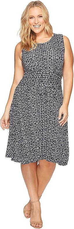 B Collection by Bobeau - Plus Size Knit Fit & Flare Dress