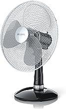 Brandson - Ventilateur de table - Ventilateur de bureau 40 cm - 3 vitesses - Economie d'énergie 50W - silencieux, élégant ...