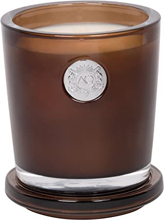 Amazon Com Aquiesse Portfolio Collection Large Candle Luxe Linen 11 Oz Aquiesse Home Kitchen
