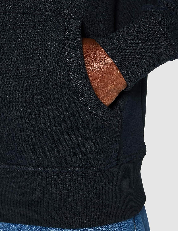 Superdry VL Premium Goods Tonal Injection Hood Sweat-Shirt À Capuche Homme Bleu (Eclipse Navy 98t)