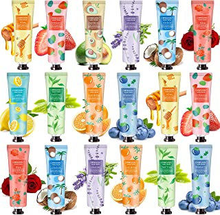 18 Pack Hand Cream Hand Lotion for Dry Cracked Hands, Working Hands, Natural Plant Fragrance Hand Lition Moisturizing Hand Cream Gift Set Travel Size For Men And Women