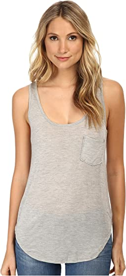 Boyfriend Tank w/ Pocket