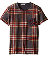Dolce & Gabbana Kids - Back to School Tartan T-Shirt (Big Kids)