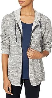 Women's French Terry Full-Zip Hoodie Sweatshirt