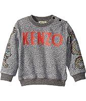 Kenzo Kids - Multi Iconics and Logo Sweatshirt (Infant)