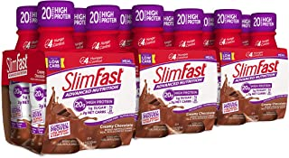 SlimFast Advanced Nutrition Creamy Chocolate Shake – Ready to Drink Meal Replacement..