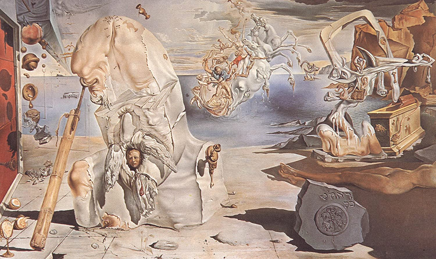 The Apotheosis of Homer Salvador Dali  Poster Canvas Art print A4 A3 A2 A1 new Beste and cheap (A0 Canvas (30 40))