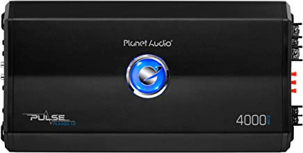 $101 Get Planet Audio PL4000.1D Pulse 4000 Watt, 1 Ohm Stable Class D Monoblock Car Amplifier with Remote Subwoofer Control