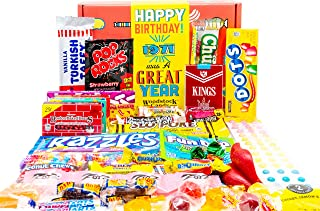 Woodstock Candy ~ 1971 50th Birthday Gift Box Nostalgic Retro Candy Mix from Childhood for 50 Year Old Man or Woman Born 1...