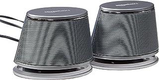 AmazonBasics USB-Powered PC Computer Speakers with...