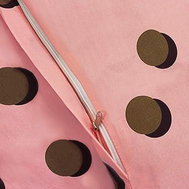 Queenzliving Artesia Microfiber Double Duvet/Dohar/Quilt/Comforter Cover- Pink