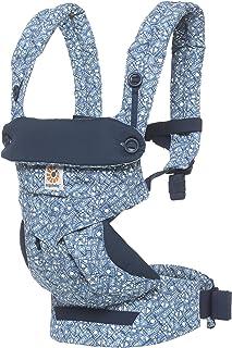 Ergobaby 360 All Carry Positions *人体工程学婴儿背带 Batik 靛蓝/蓝色/白色