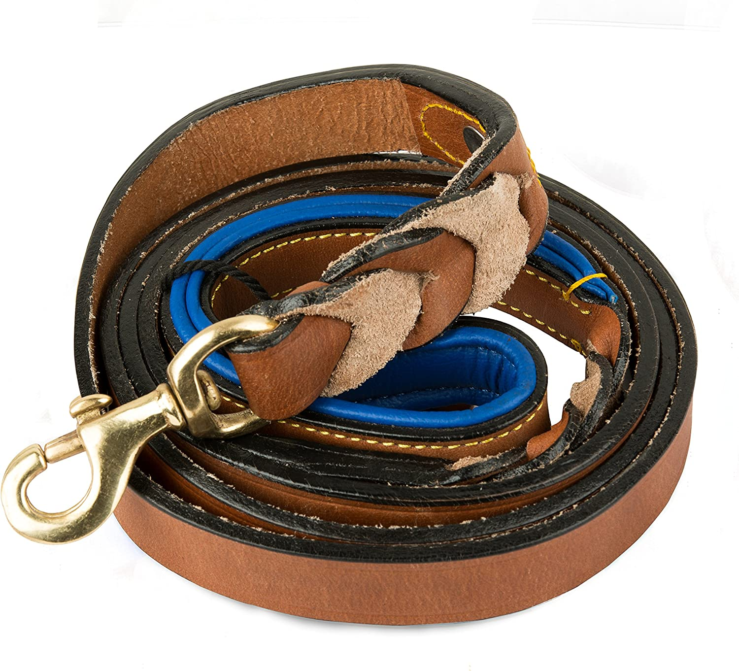 Large special price PetsUp Padded Leather Branded goods Dog Collars
