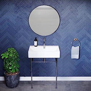 Amazon Com Chrome Console Sinks Bathroom Sinks Tools Home Improvement