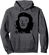 NPC meme Che Guevara Gray Face Hoodie