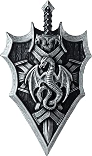 California Costumes Dragon Lord Shield & Sword - Disfraz de dragón para Hombre