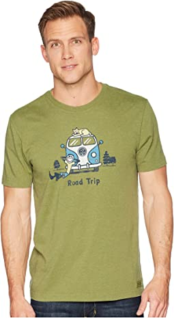 Jake & Rocket Roadtrip Crusher Tee