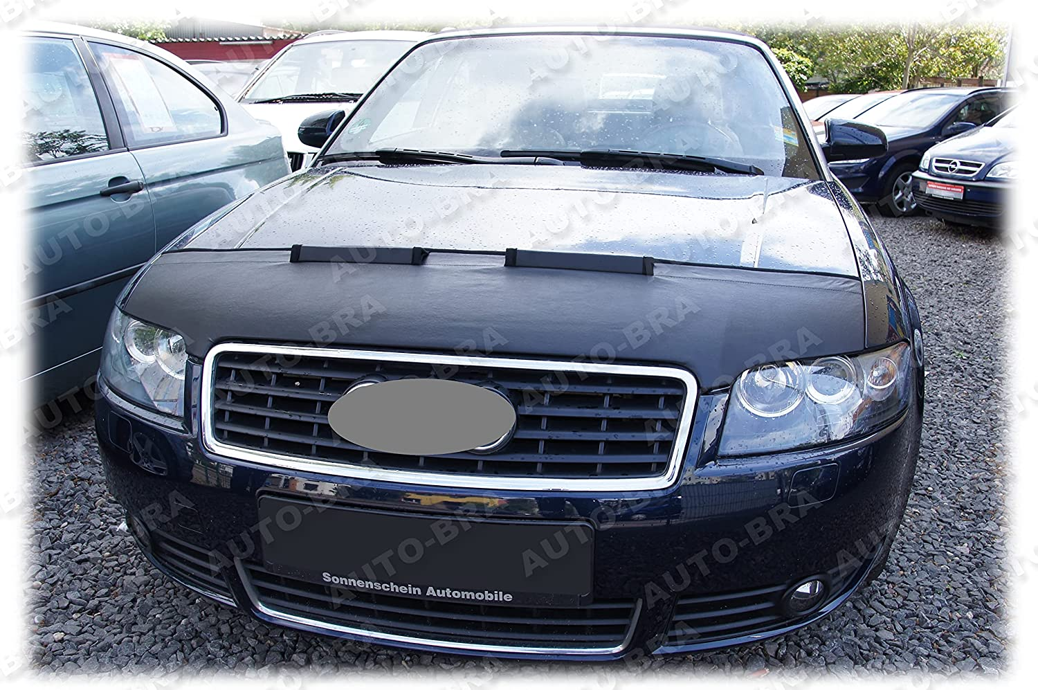 HOOD BRA Discount is ! Super beauty product restock quality top! also underway Front End Nose Mask Audi A4 Convertible for Cabriolet 2