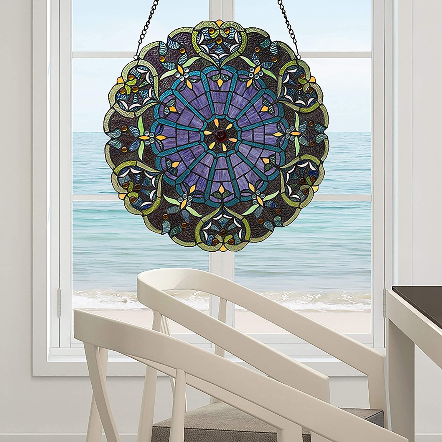 Large-scale sale Stained Glass Webbed Heart Popular brand in the world 22