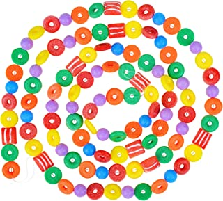 9 Foot Plastic Candy Life Saver Gumdrop Ball Christmas Garland | Glittered Christmas Tree Garland Perfect For Retro Candy ...
