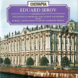 Hindemith Trauermusik. Purcell 'Fairy Queen' Suite. Rossini String Sonata No.6. Petrov 'Creat