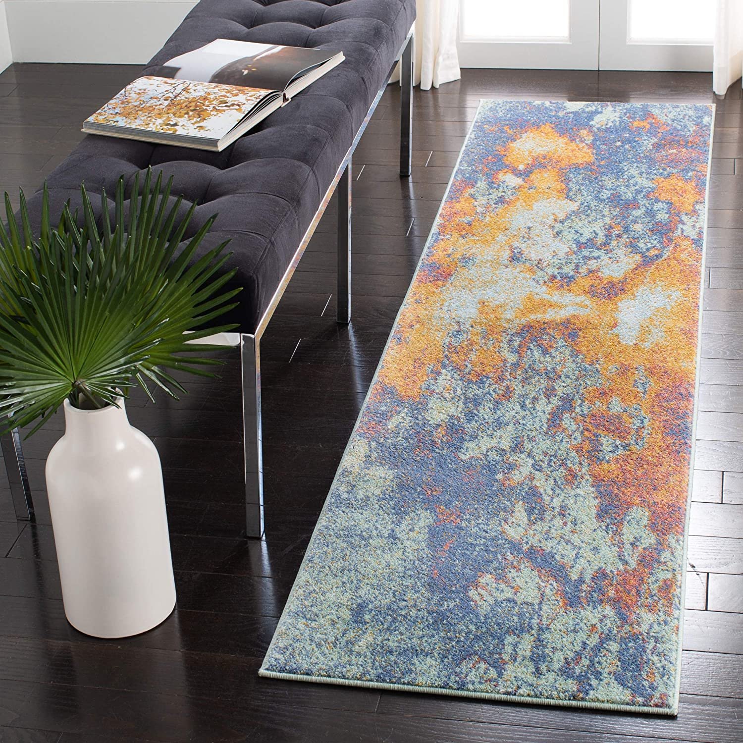 Safavieh Prism Collection PSM533A Modern Non-Shedd 25% OFF Challenge the lowest price of Japan ☆ Boho Abstract