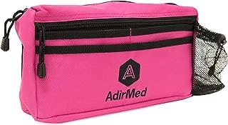 AdirMed Wheelchair Pouch - Rollator Pouch - Walker Pouch - Pink