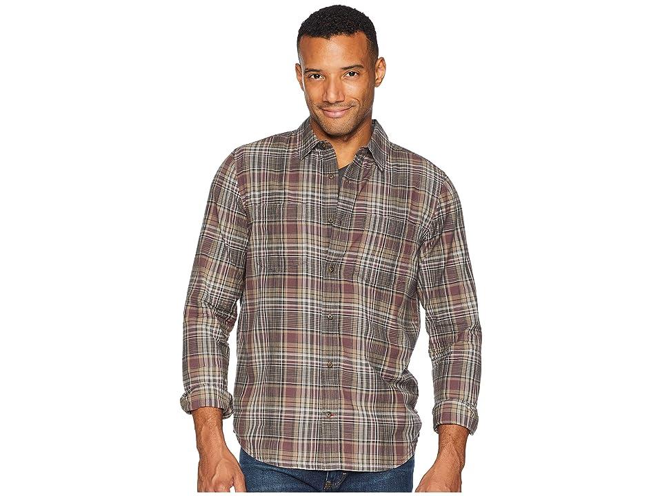 Toad&Co Smythy Spacedye Long Sleeve Shirt (Huckleberry) Men