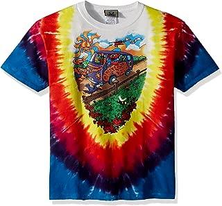 Boy's Big Kids Grateful Dead Summer Tour Bus Short Sleeve T-Shirt