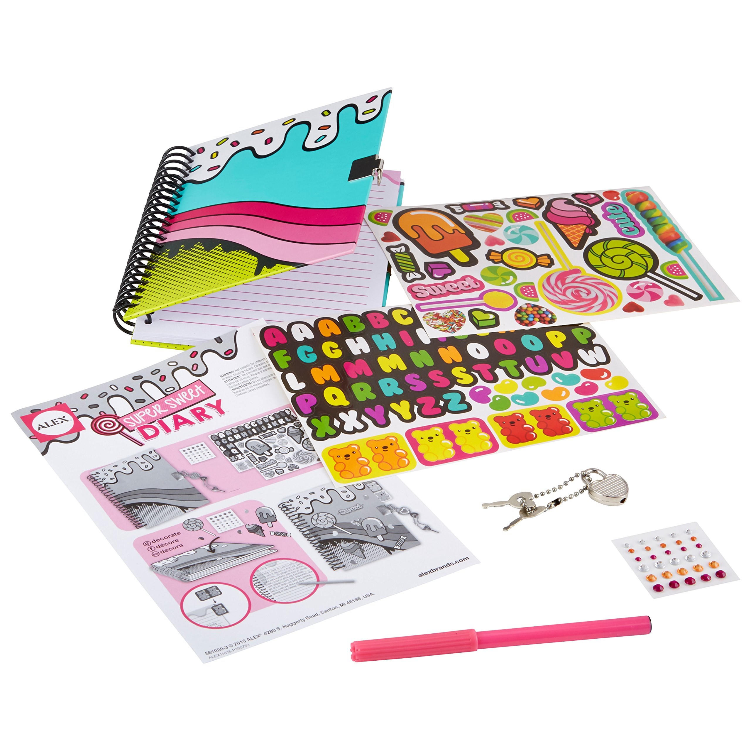ALEX Toys Craft Super Sweet Diary 561020-3
