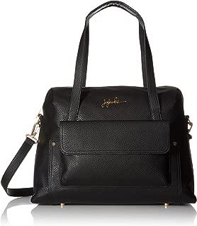 JuJuBe Wherever Weekender Vegan Leather Travel Bag, Ever Collection - Noir
